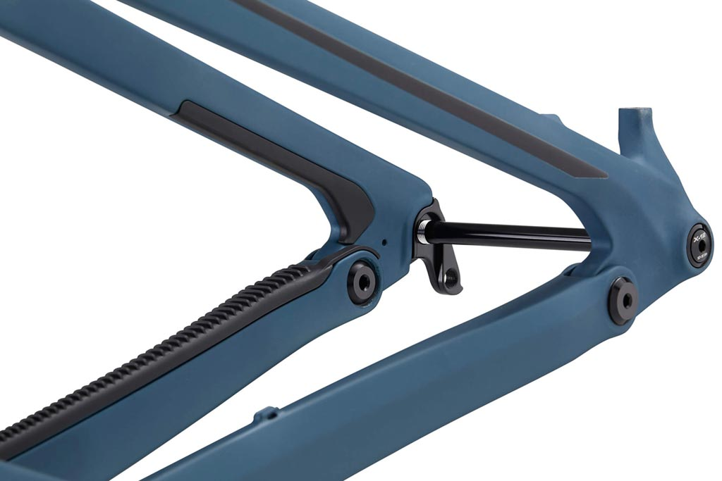 Transition Scout review - rear triangle
