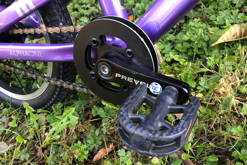 Prevelo Alpha One pedal, crank, bashguard