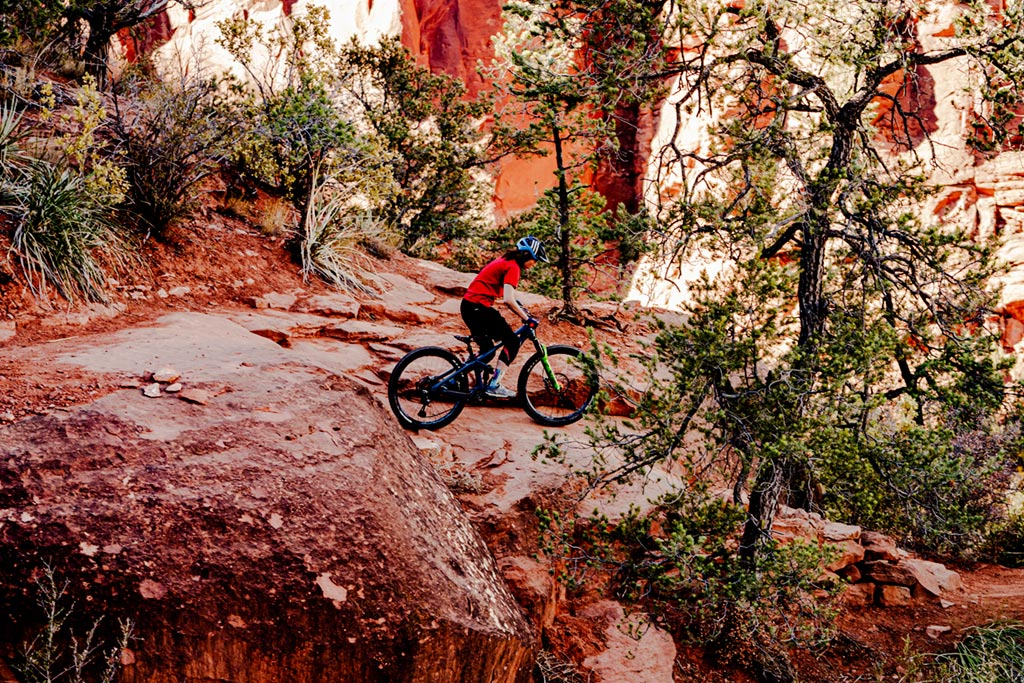 "The Transition Scout is an excellent trail bike for kids 4'10"" and taller"