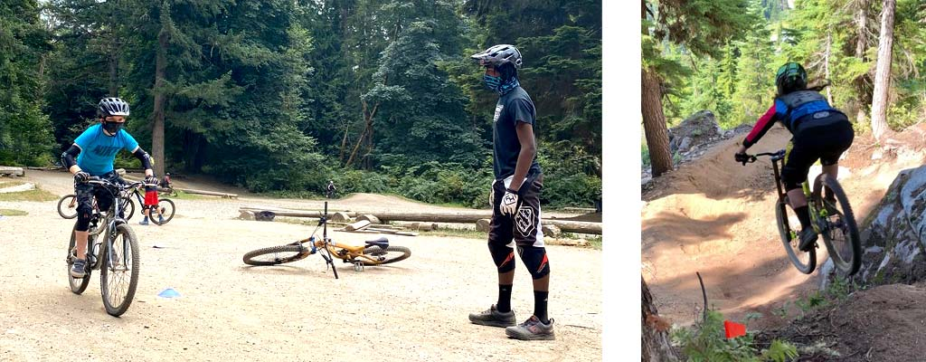 Sweetlines coaching, mountain bike clinics, and junior racing team