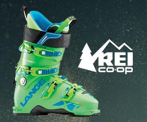 Lange ski boots from REI