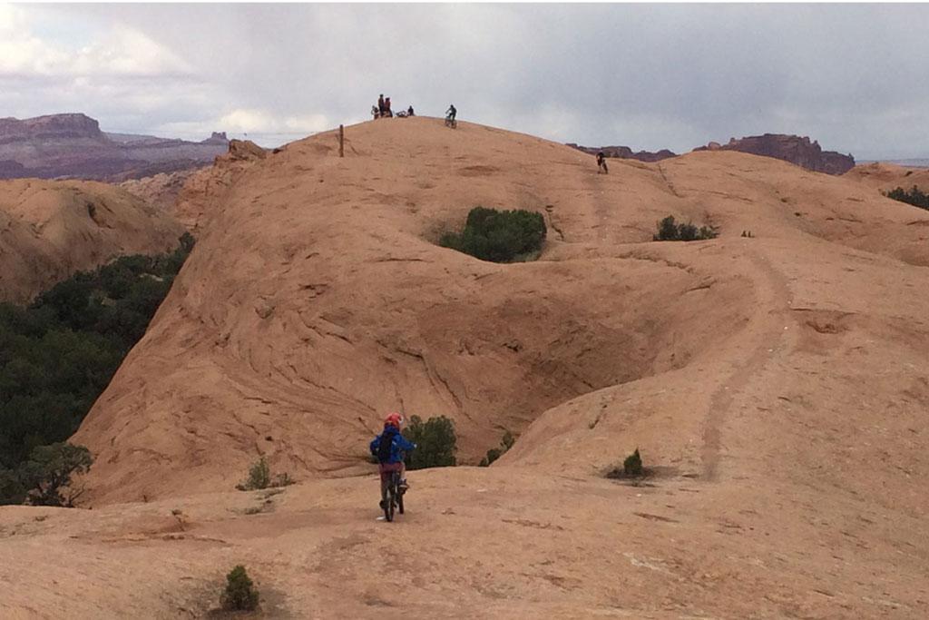 Family Friendly Trails in Moab, Utah - Slickrock Trail
