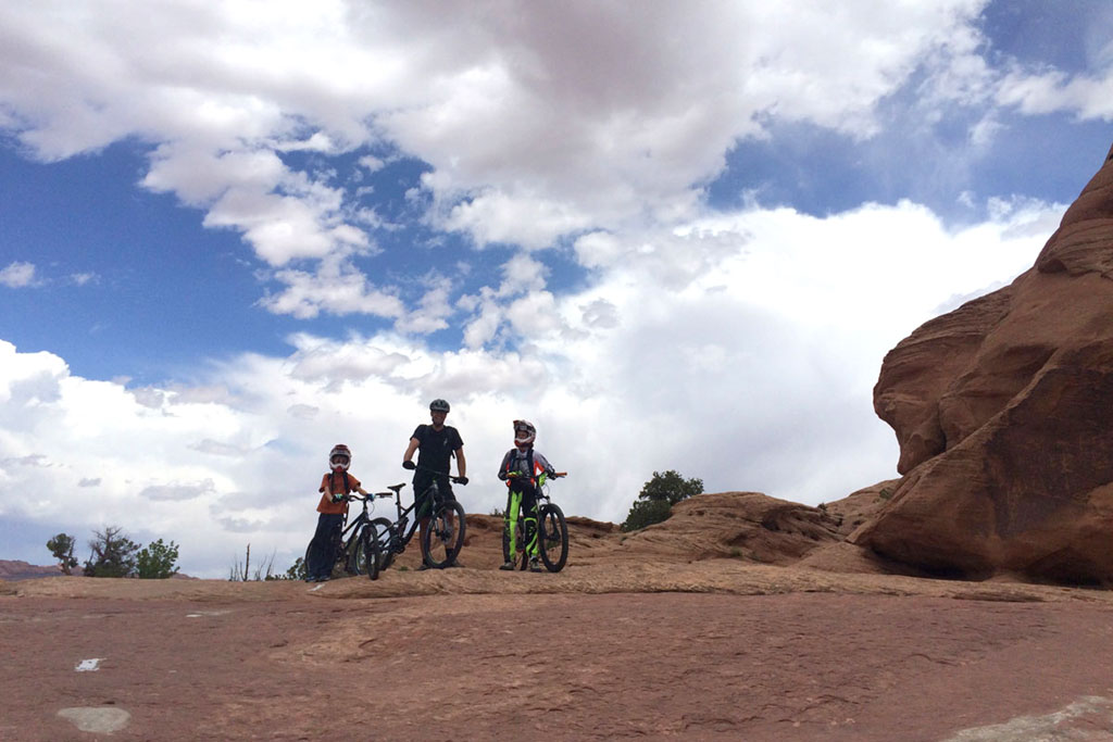 Moab Slickrock Trail with Kids